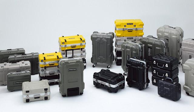カメラ用トランクやアルミキャリーの開発から生まれたスーツケースブランドPROTEX