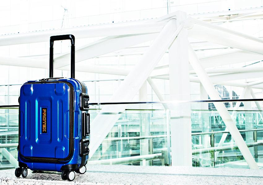 PROTEXのおすすめスーツケースFPZ-07新色ハヤテブルー