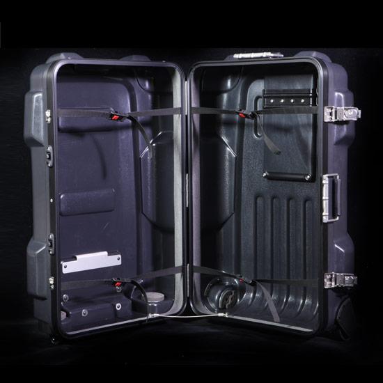 PROTEXのスーツケース 内装