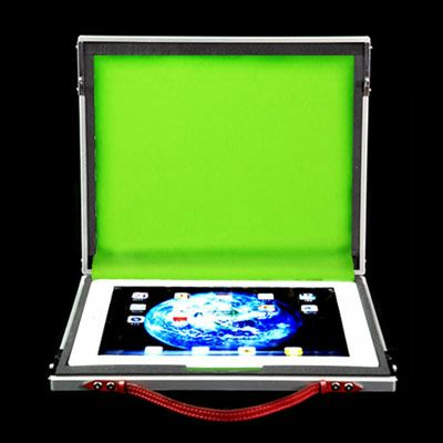 iPad/iPad2専用ケース SmartaBook DS-009 シルバー