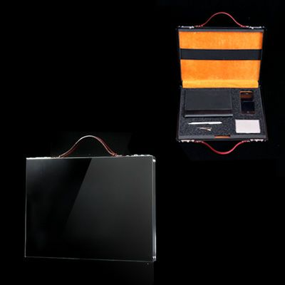 雑誌掲載多数・国産スマートアルミアタッシュケースSmartaBookDocument 13inch ブラック