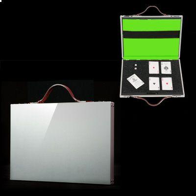 雑誌掲載多数・国産スマートアルミアタッシュケースSmartaBookDocument 15inch シルバー