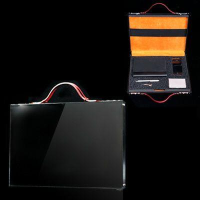 雑誌掲載多数・国産スマートアルミアタッシュケースSmartaBookDocument 15inch ブラック